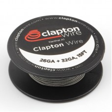 Clapton Wire 32G * 26G (0.2mm * 0.4mm) Kanthal A1 5m / 15ft