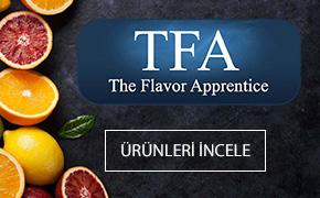 Yüzlerce çeşit TFA aroma